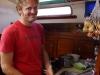 Stefan, der Abwasch und die letzten Zwiebeln