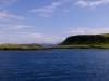 Aussicht vom Ankerplatz bei Torsa Island