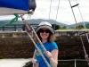 Ute hat mit uns Urlaub am Kanal gemacht