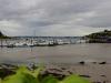 Crosshaven Stadthafen bei Niedrigwasser
