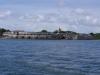 Ausfahrt aus Cartagena Richtung Rosarios. Mehrere Wochen sind die Britischen Schiffe hier nicht durch gekommen und als sie es endlich geschafft hatten, waren viele Soldaten entweder verhungert oder krank.