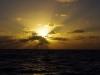 Sonnenuntergang an Heiligabend