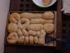 Frisch gebackene Brötchen
