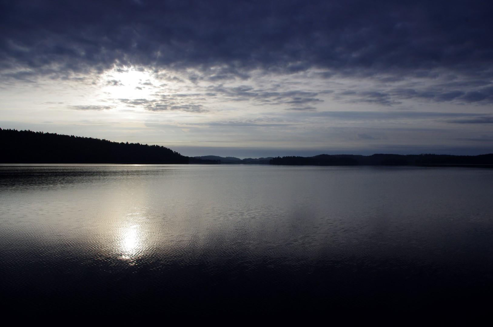 Morgens um 6 bei Södertälje