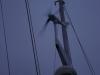 Windgenerator in Betrieb