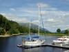 Anlegestelle vor Loch Lochy