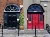Tueren in Irland: Bitte mit Farbe!