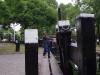 Alte Schleusenanlage die manuell bedient wird und noch einwandfrei funktioniert